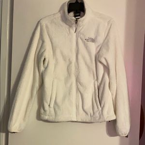 White The Northface sweater